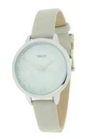 """Ernest horloge """"Krystal"""" lichtgrijs"""