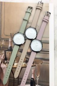 """Ernest horloge """"Krystal"""" pink"""