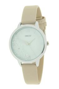"""Ernest horloge """"Krystal"""" beige"""