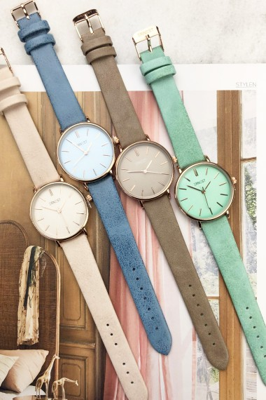 Ernest horloge Rosé-Cindy-Medium SS20 mint