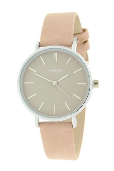 Ernest horloge Silver-Cindy-Medium SS20 oudroze