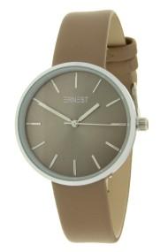 """Ernest horloge """"Elin"""" taupe"""