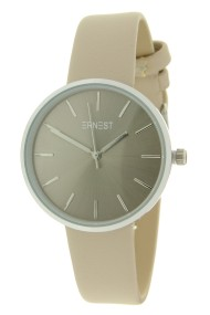 """Ernest horloge """"Elin"""" beige"""