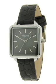 "Ernest horloge ""Cato"" zwart"