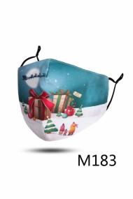 """Kerst mondkapje """"M183"""" kerstcadeaus"""