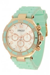 "Ernest horloge Rosé"" mint"