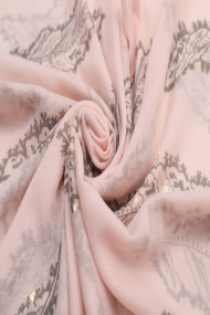 """Sjaal """"Feathers"""" pink"""