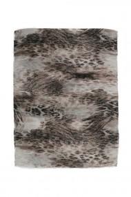 """Sjaal Faded Leopard"""" beige"""