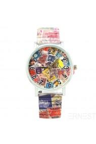 """Ernest horloge """"Stamps"""" multi"""