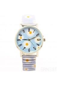 """Ernest horloge """"Daisy"""" lichtblauw"""