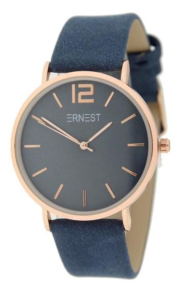 Ernest horloge Rosé-Cindy SS21 donkerblauw
