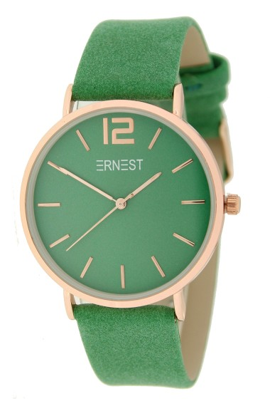 Ernest horloge Rosé-Cindy SS21 appelgroen