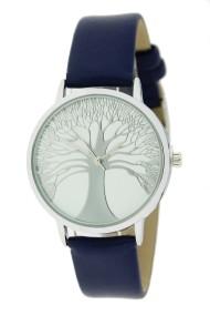 "Ernest horloge ""Tree Of Life"" donkerblauw"