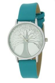 "Ernest horloge ""Tree Of Life"" turquoise"