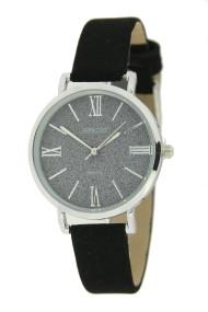"""Ernest horloge """"River"""" zwart"""