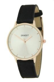"Ernest horloge ""Fallon"" zwart"