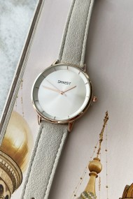 "Ernest horloge ""Fallon"" lichtgrijs"