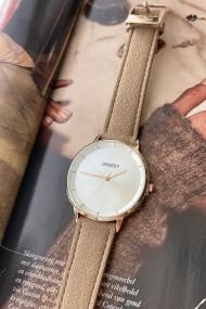 "Ernest horloge ""Fallon"" taupe"