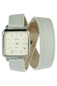 """Ernest horloge """"Double Wrap"""" ijsblauw"""