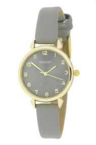 """Ernest horloge """"Goldy"""" grijs"""