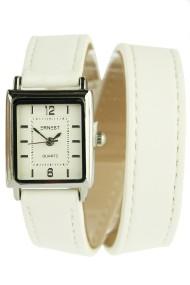 """Ernest horloge """"Double Mini Wrap"""" wit"""