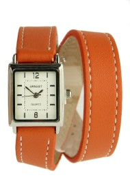 "Ernest horloge ""Double Mini Wrap"" brick"