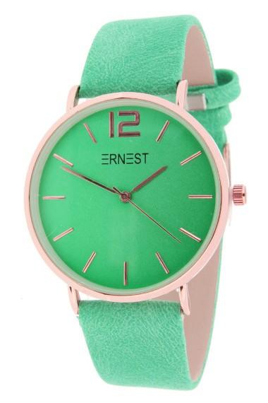 Ernest horloge Rosé-Cindy-SS19 zachtgroen