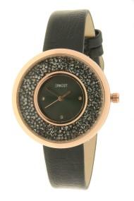 """Ernest horloge """"Grace-Glitter"""" zwart"""