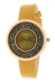 "Ernest horloge ""Grace-Glitter"" mostard"