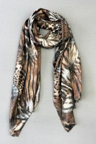 "Sjaal ""Lisa-Leopard"" camel"