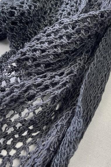 Gehaakte sjaal/overgooier