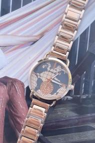 """Ernest horloge """"Rana"""" rosé"""