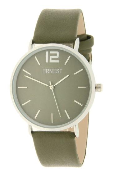Ernest horloge Silver-Cindy AW21 donkergroen
