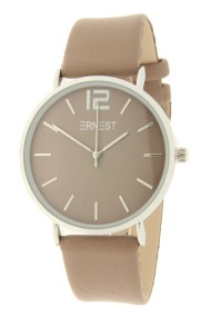 Ernest horloge Silver-Cindy AW21 taupe