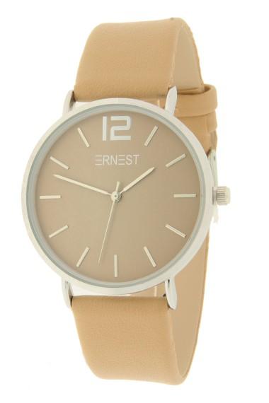 Ernest horloge Silver-Cindy AW21 beige