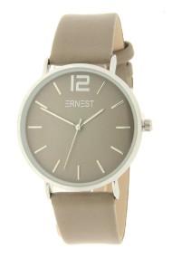 Ernest horloge Silver-Cindy AW21 grijs-taupe