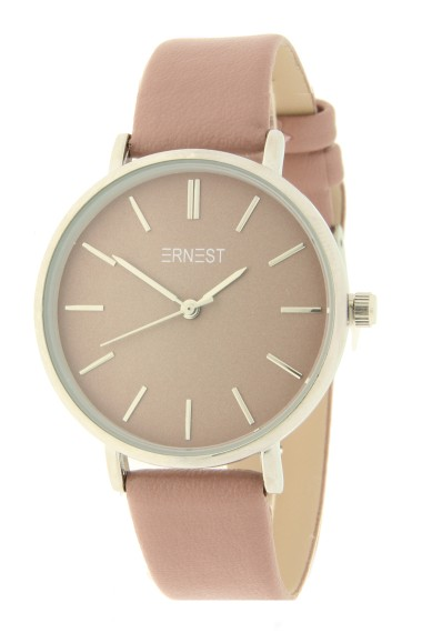 Ernest horloge Silver-Cindy AW21 oudroze
