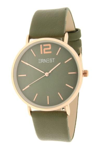 Ernest horloge Rosé-Cindy AW21 donkergroen