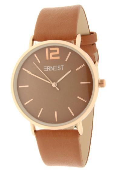 Ernest horloge Rosé-Cindy AW21 caramel