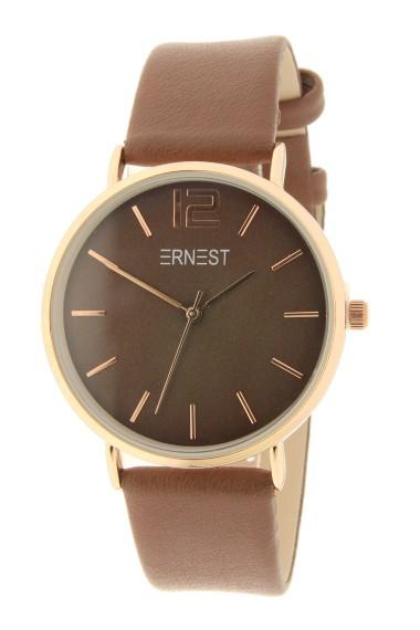 Ernest horloge Rosé-Cindy AW21 chocolate