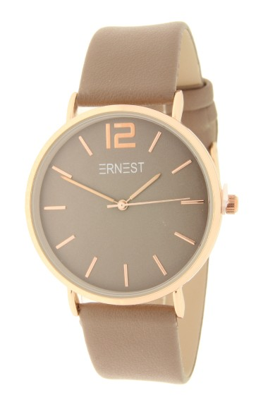 Ernest horloge Rosé-Cindy AW21 taupe