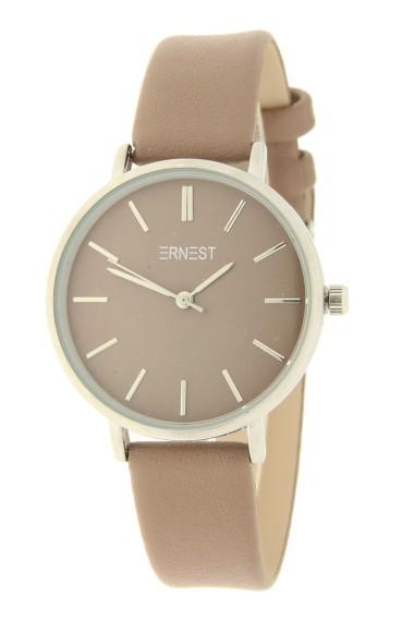 Ernest horloge Silver-Cindy-Medium AW21 taupe