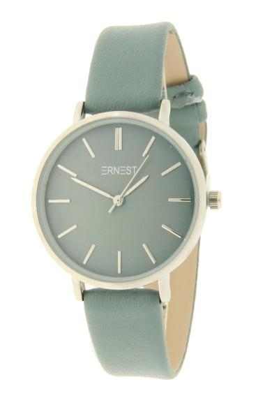 Ernest horloge Silver-Cindy-Medium AW21 groen-blauw
