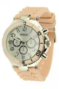 """Ernest horloge Silver-case"""" nude"""