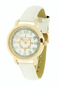 "Souris D'or horloge ""Lizard"" wit"