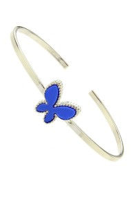 "Armband ""COLOR BUTTERFLY"" blauw"