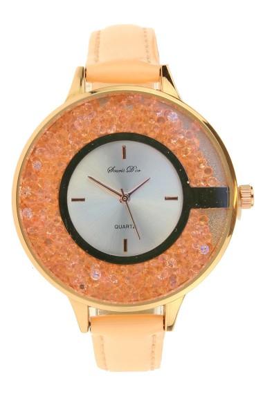 Souris D'or horloge New Glitzzz