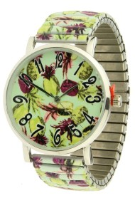 "Ernest horloge ""Pineapple"" lime"