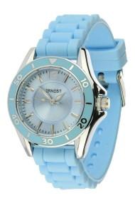 "Ernest horloge ""Temple"" lichtblauw"