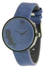 """Ernest horloge """"Madrid"""" blauw"""